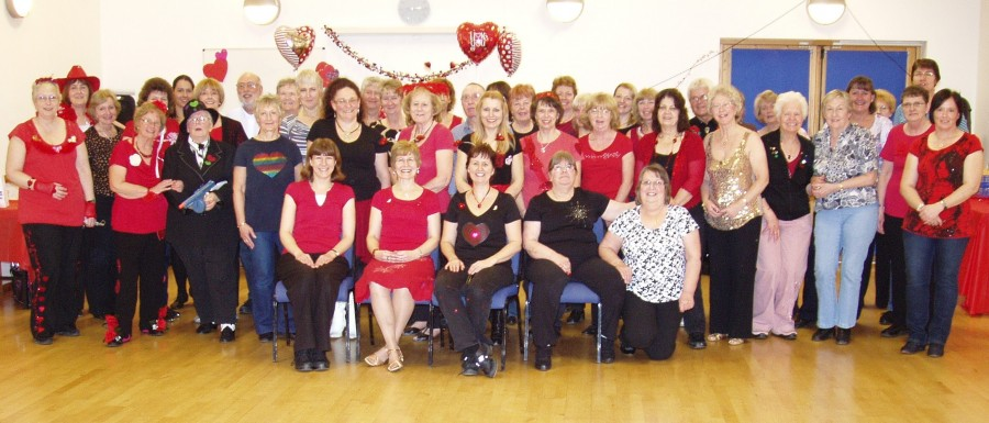 2012 Valentine Social Group Photo